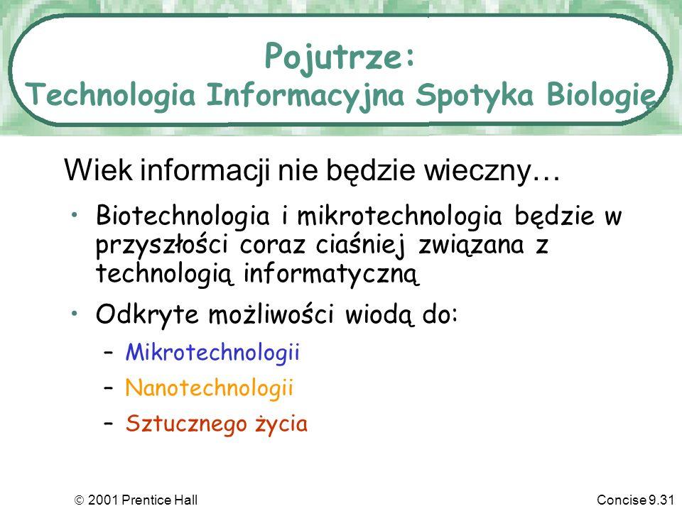 Pojutrze: Technologia Informacyjna Spotyka Biologię