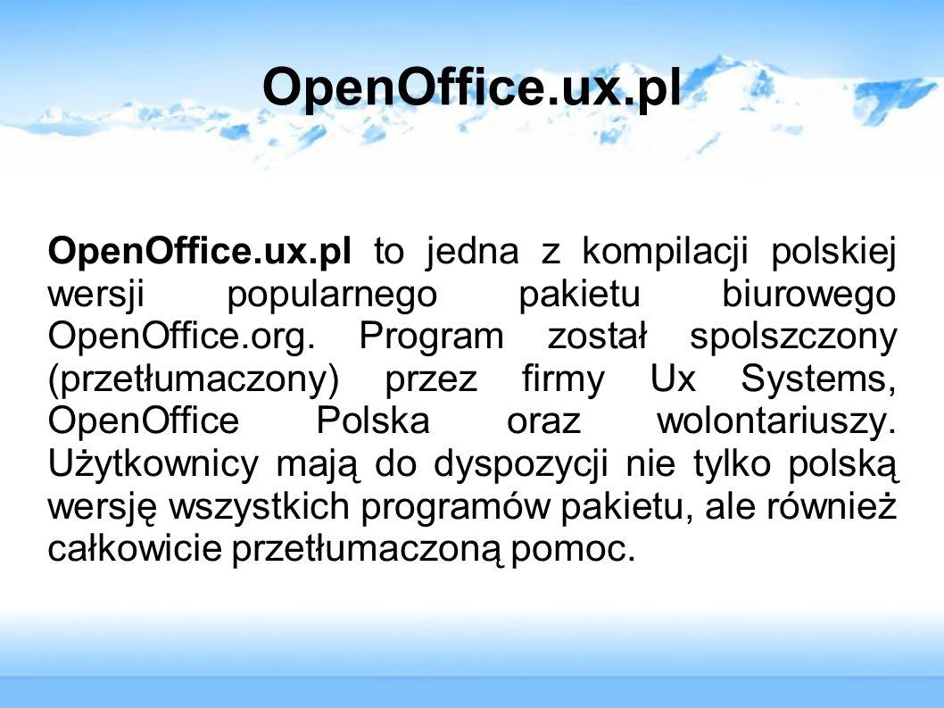 OpenOffice.ux.pl