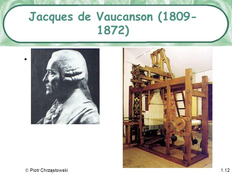 Jacques de Vaucanson (1809-1872)
