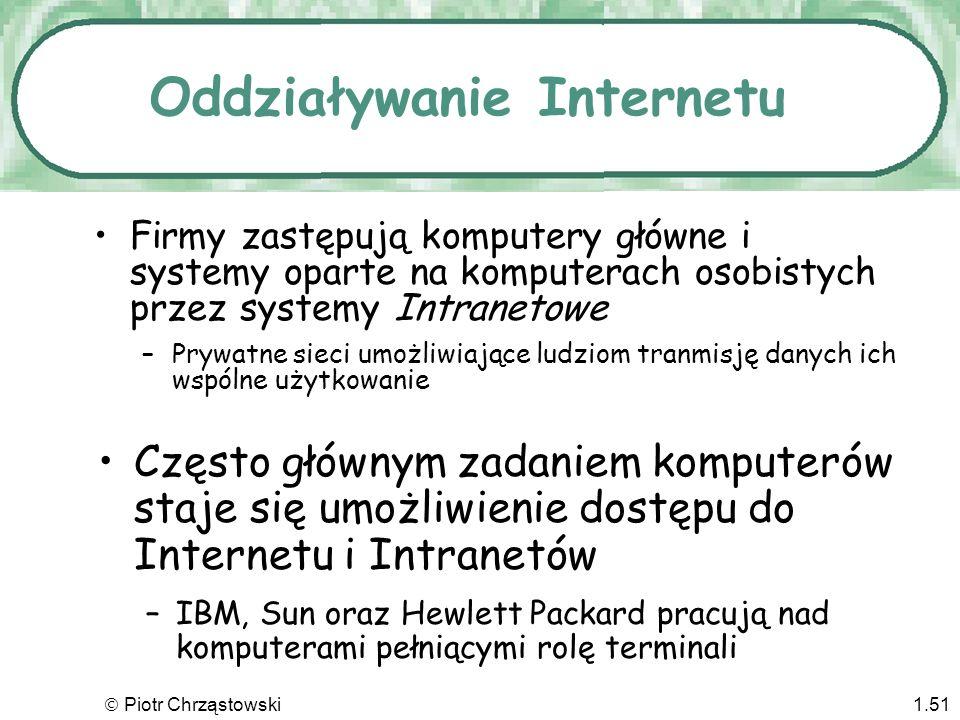 Oddziaływanie Internetu