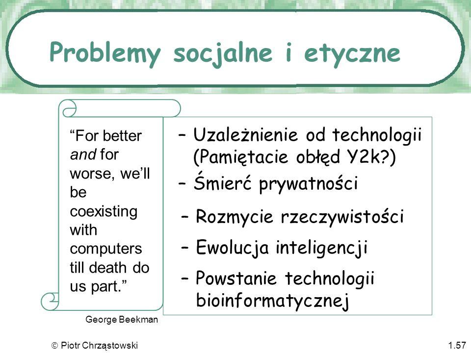 Problemy socjalne i etyczne