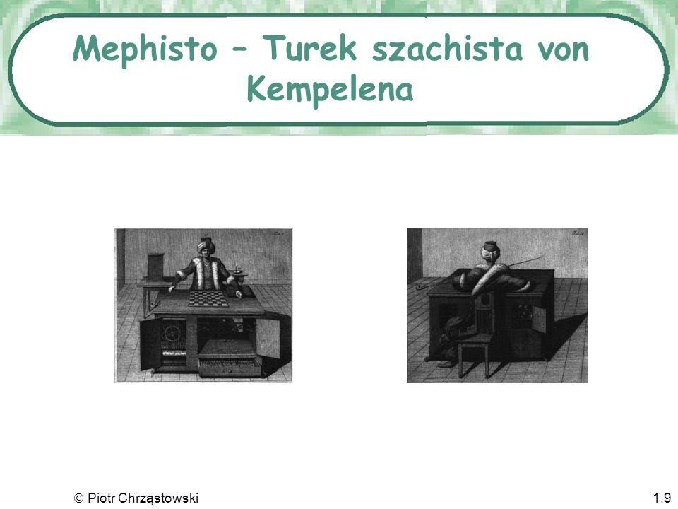 Mephisto – Turek szachista von Kempelena