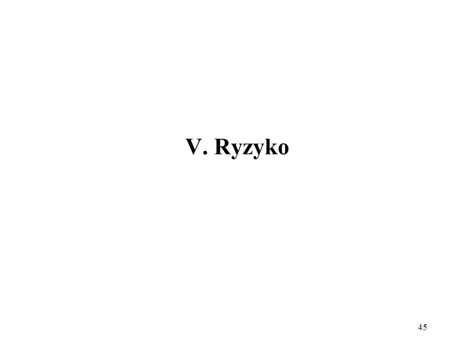 V. Ryzyko