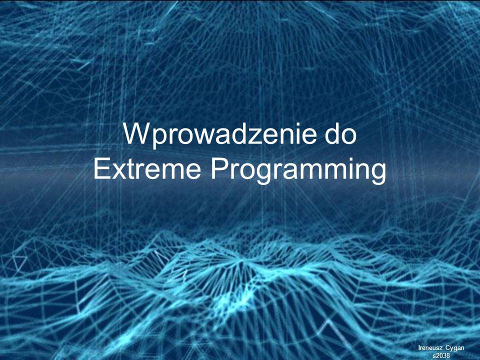 Wprowadzenie do Extreme Programming