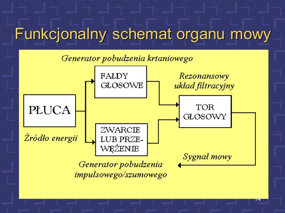 Funkcjonalny schemat organu mowy