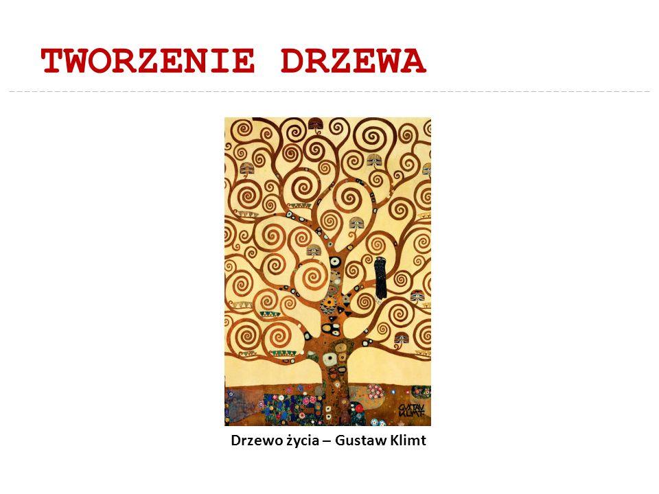 TWORZENIE DRZEWA Drzewo życia – Gustaw Klimt
