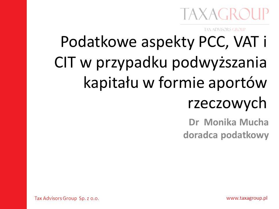 Dr Monika Mucha doradca podatkowy