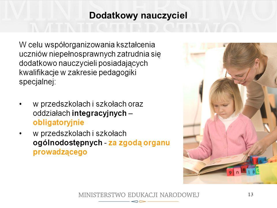 Dodatkowy nauczyciel