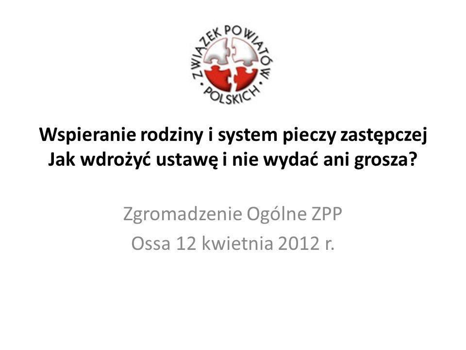 Zgromadzenie Ogólne ZPP Ossa 12 kwietnia 2012 r.