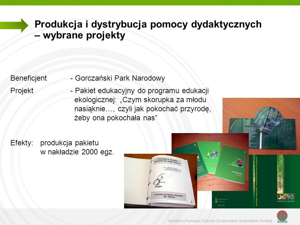 Produkcja i dystrybucja pomocy dydaktycznych – wybrane projekty