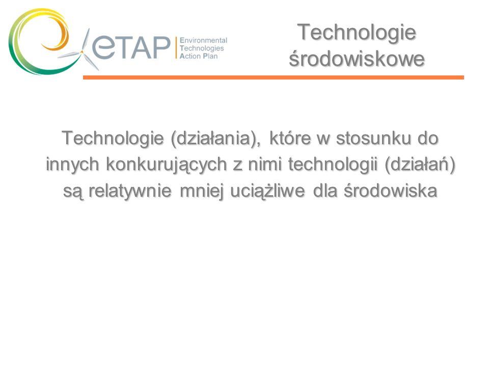 Technologie środowiskowe