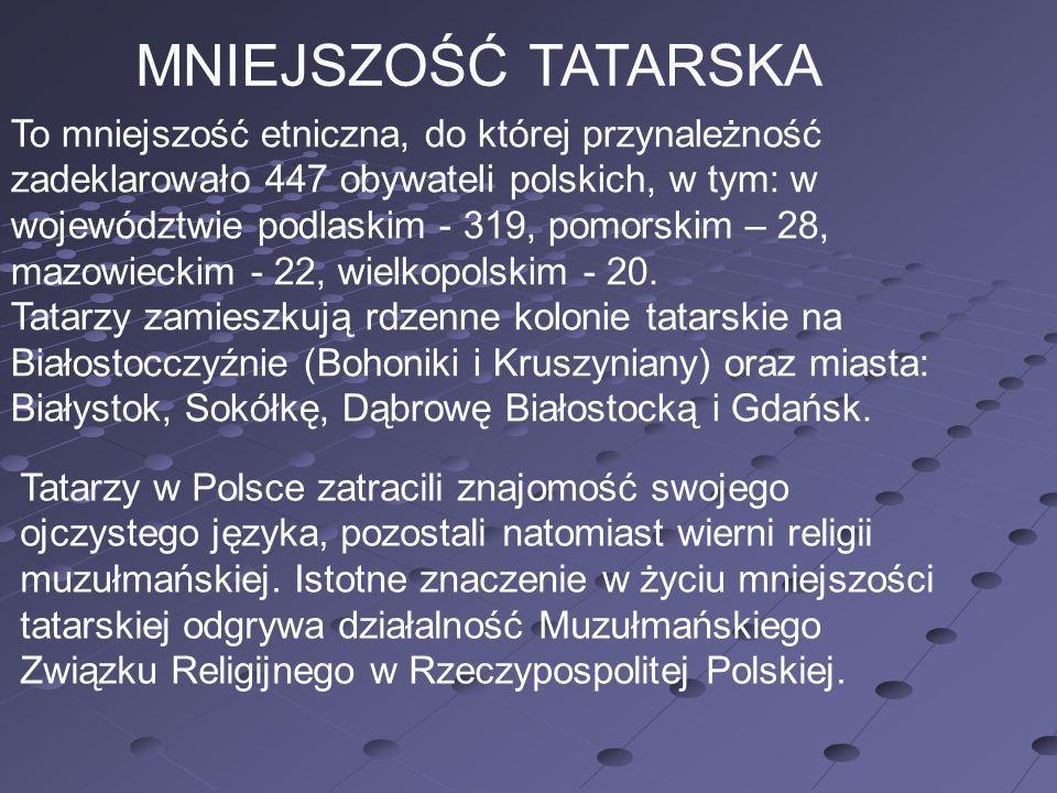 MNIEJSZOŚĆ TATARSKA