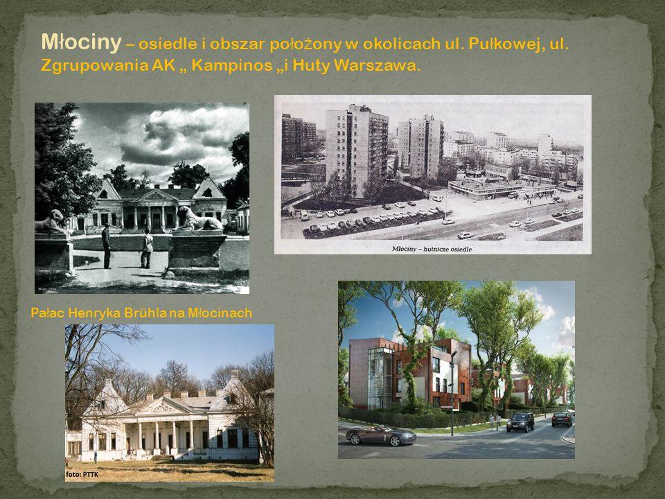 Młociny – osiedle i obszar położony w okolicach ul. Pułkowej, ul
