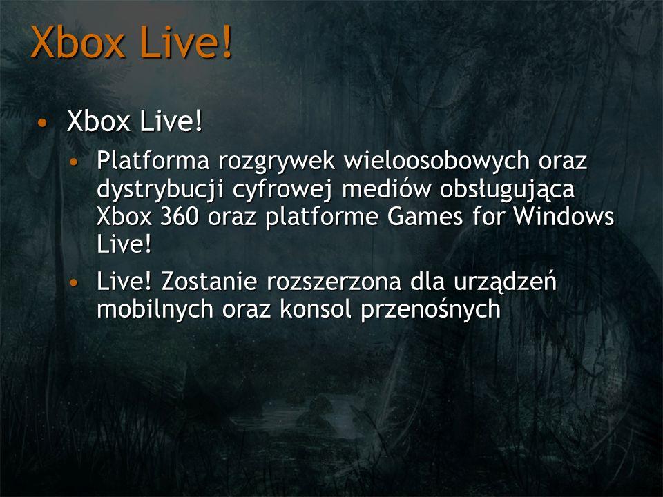 Xbox Live! Xbox Live!