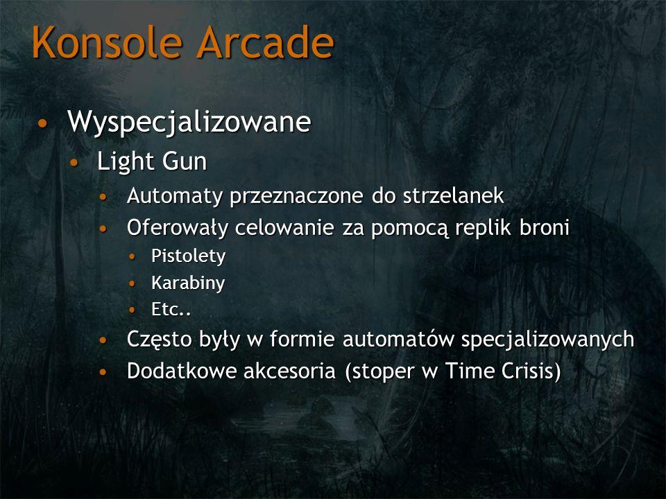 Konsole Arcade Wyspecjalizowane Light Gun