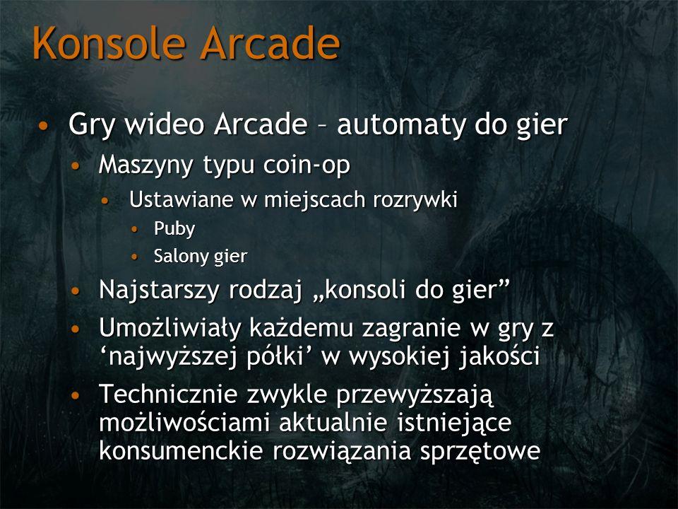 Konsole Arcade Gry wideo Arcade – automaty do gier