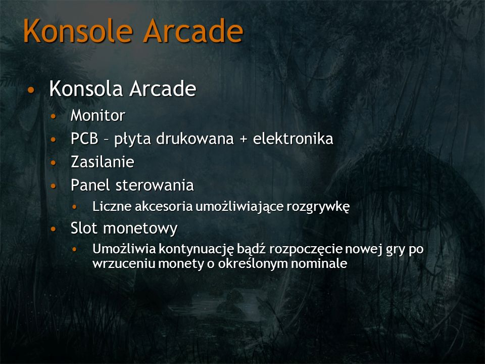 Konsole Arcade Konsola Arcade Monitor