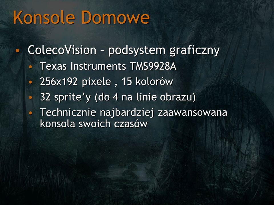 Konsole Domowe ColecoVision – podsystem graficzny