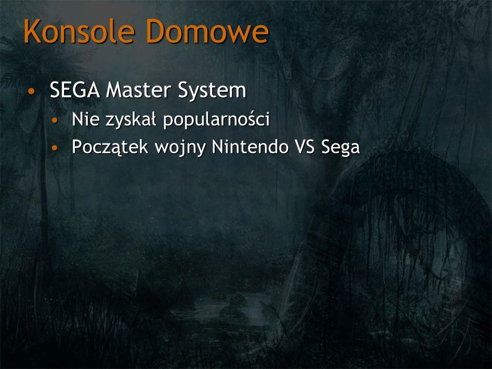 Konsole Domowe SEGA Master System Nie zyskał popularności