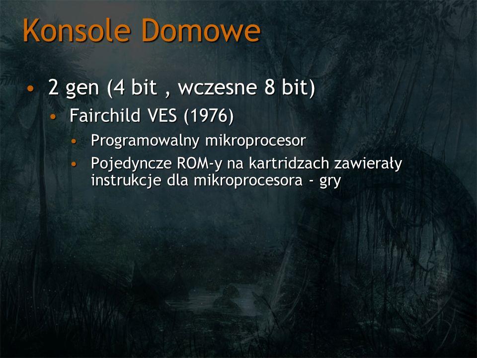 Konsole Domowe 2 gen (4 bit , wczesne 8 bit) Fairchild VES (1976)