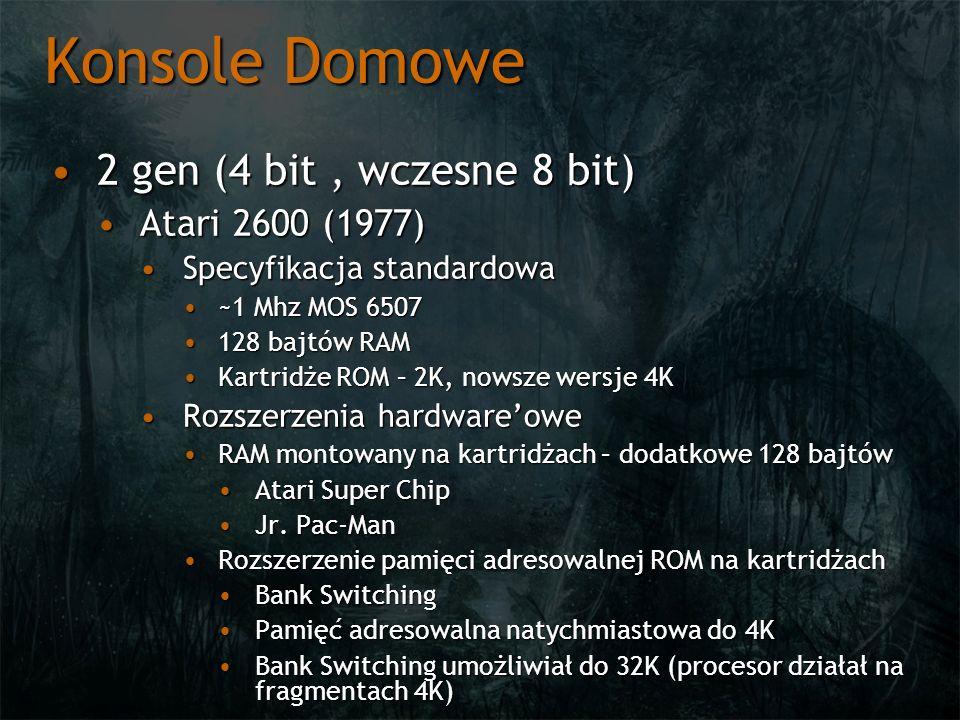 Konsole Domowe 2 gen (4 bit , wczesne 8 bit) Atari 2600 (1977)