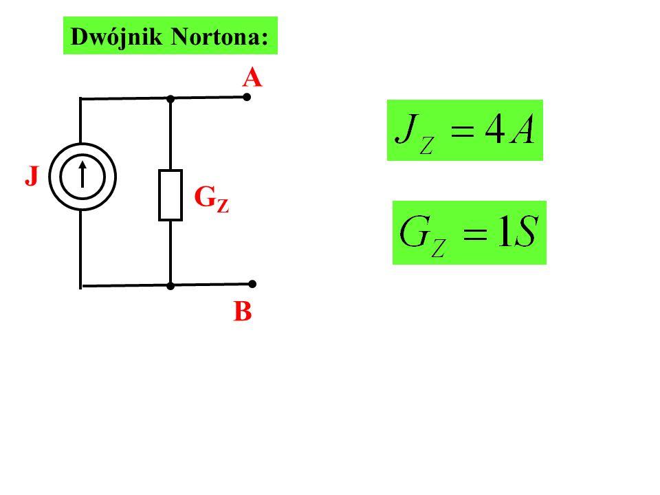 Dwójnik Nortona: J GZ A B