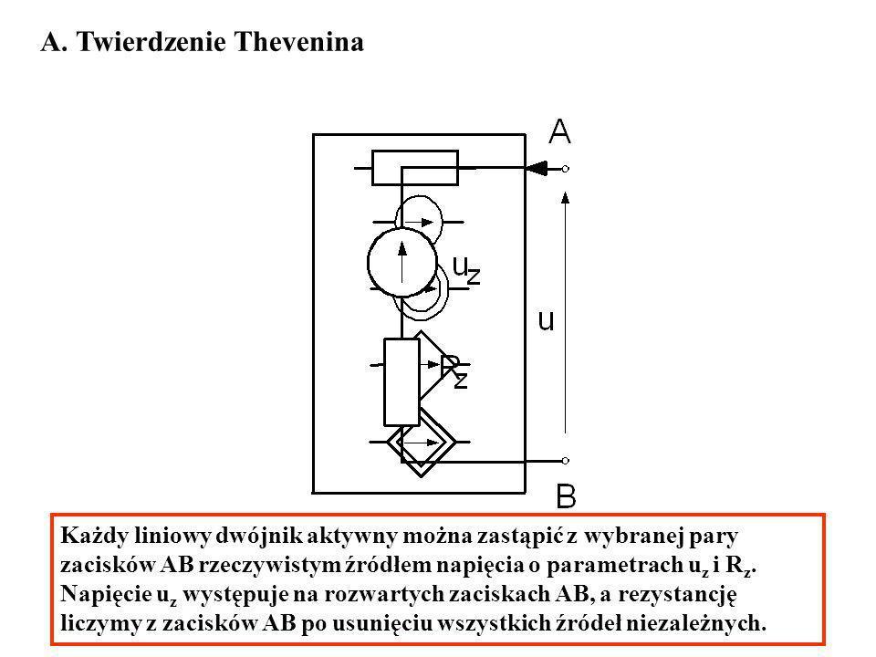 A. Twierdzenie Thevenina