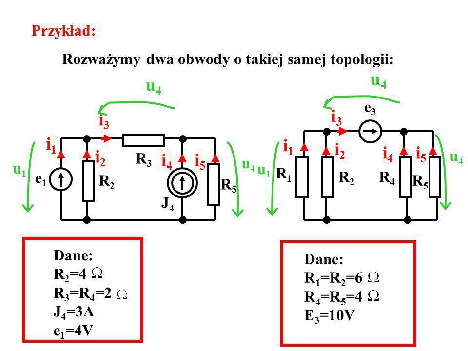 u4 u4 i1 i2 i3 i4 i5 i1 i2 i3 i4 i5 Przykład: