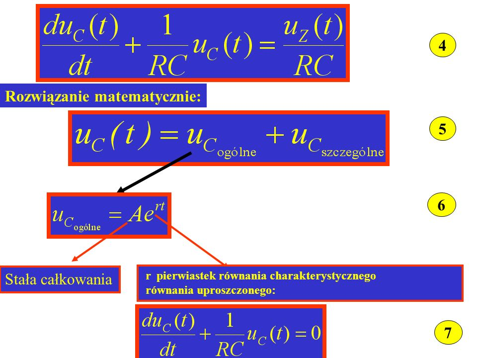 Rozwiązanie matematycznie: