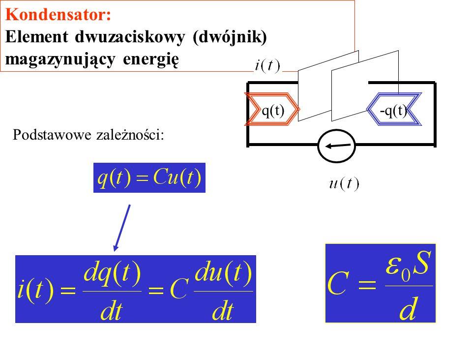 Element dwuzaciskowy (dwójnik) magazynujący energię
