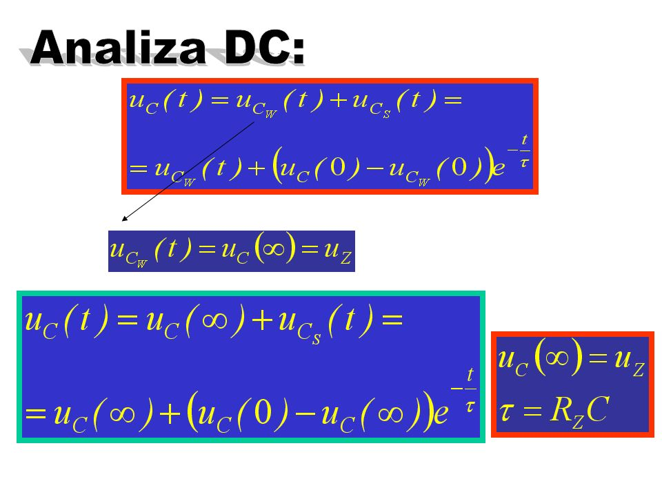 Analiza DC:
