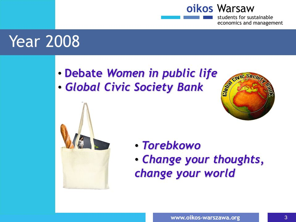 Year 2008 Debate Women in public life Global Civic Society Bank