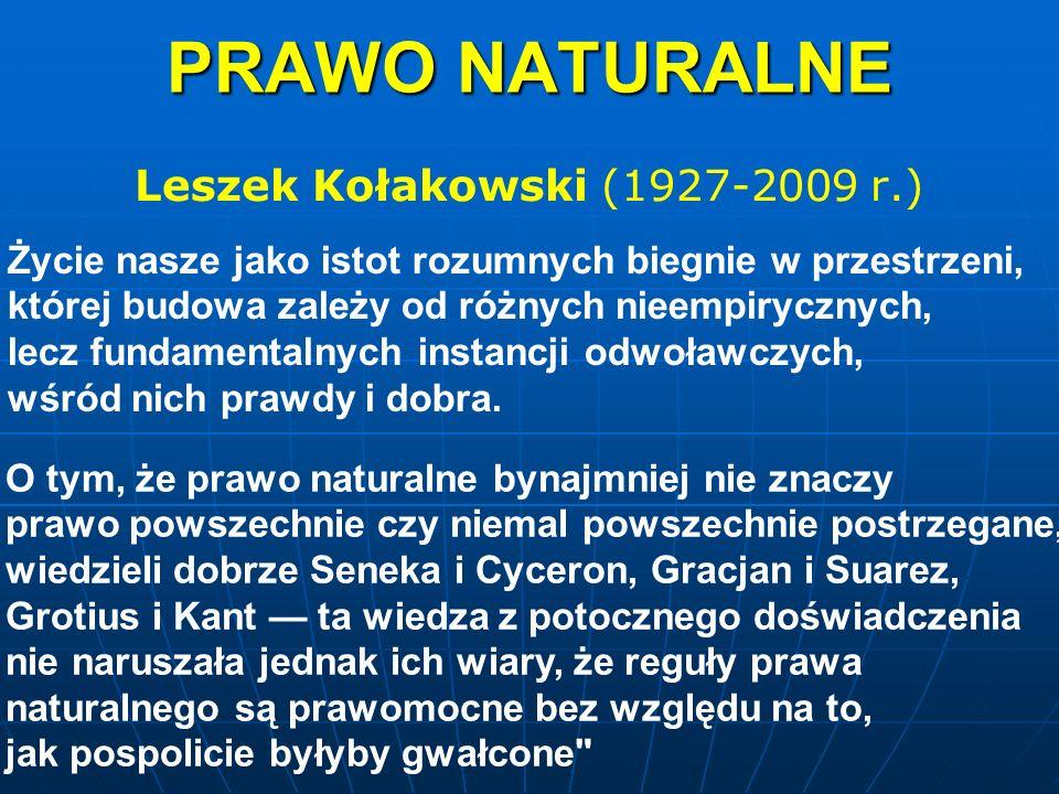 Leszek Kołakowski (1927-2009 r.)