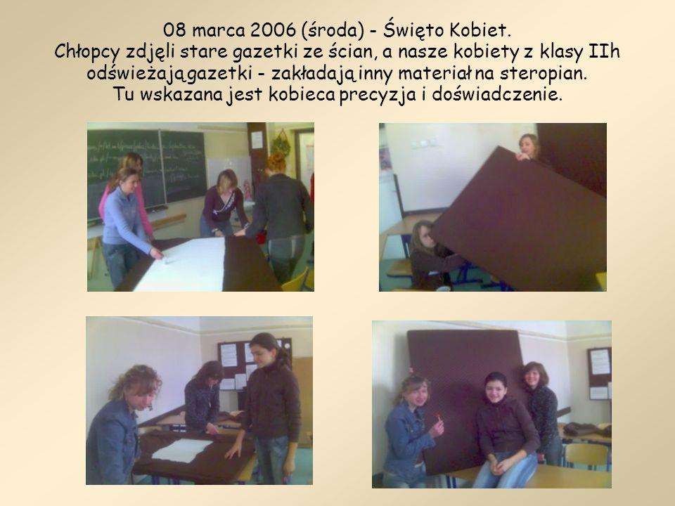 08 marca 2006 (środa) - Święto Kobiet
