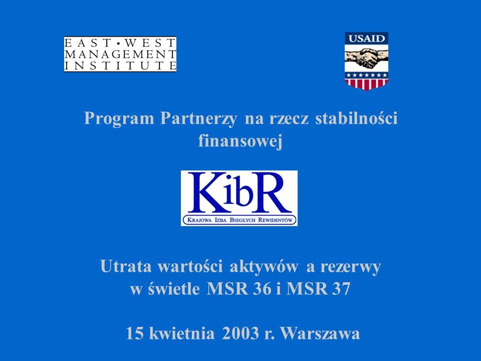 Program Partnerzy na rzecz stabilności finansowej