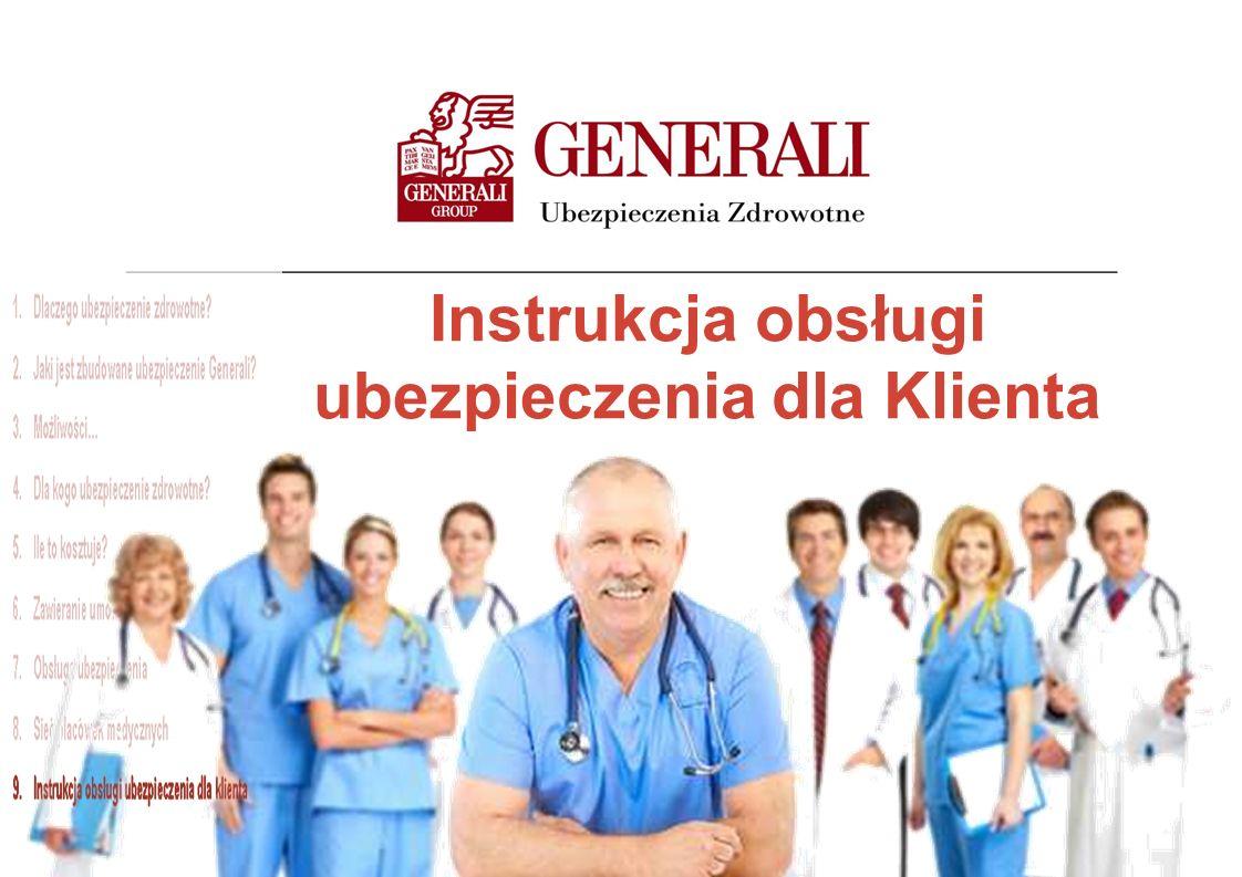 Instrukcja obsługi ubezpieczenia dla Klienta