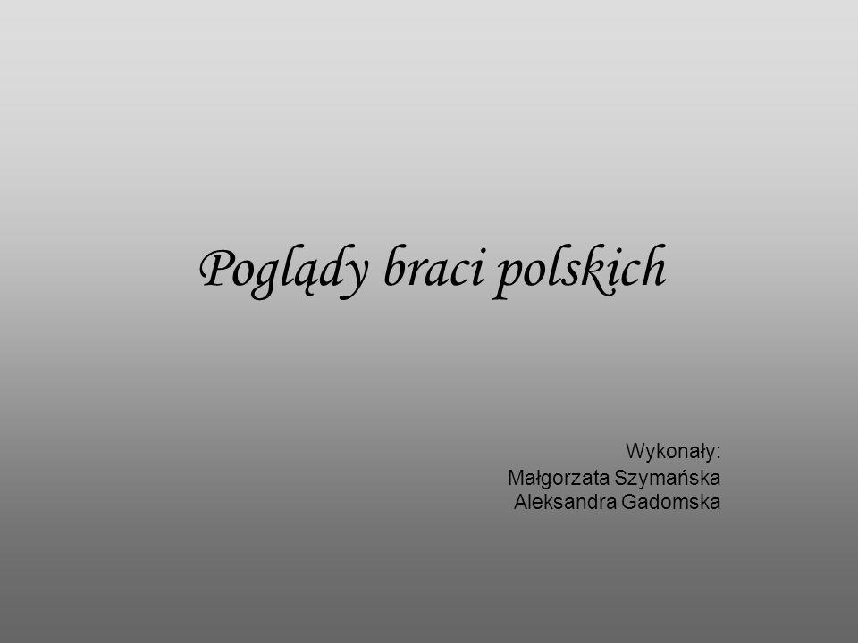 Poglądy braci polskich