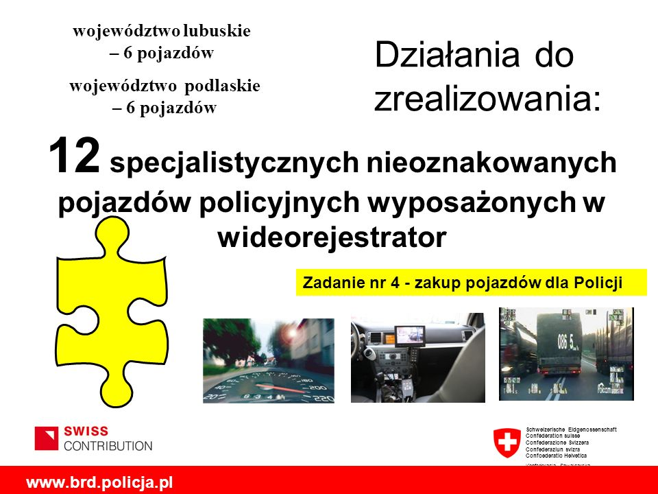 województwo lubuskie – 6 pojazdów województwo podlaskie – 6 pojazdów