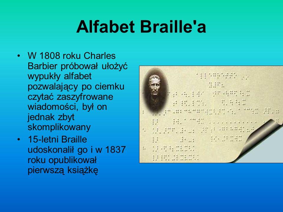 Alfabet Braille a