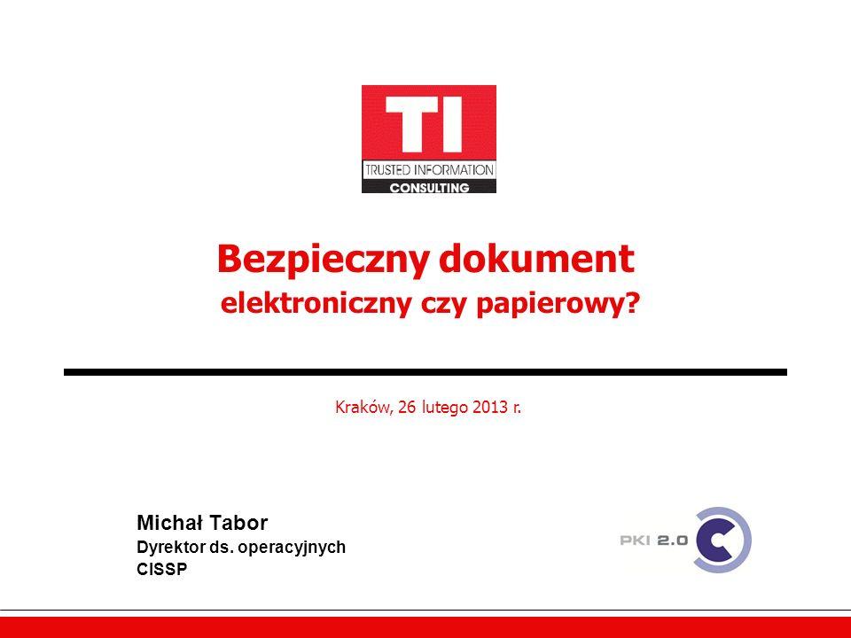 Bezpieczny dokument elektroniczny czy papierowy