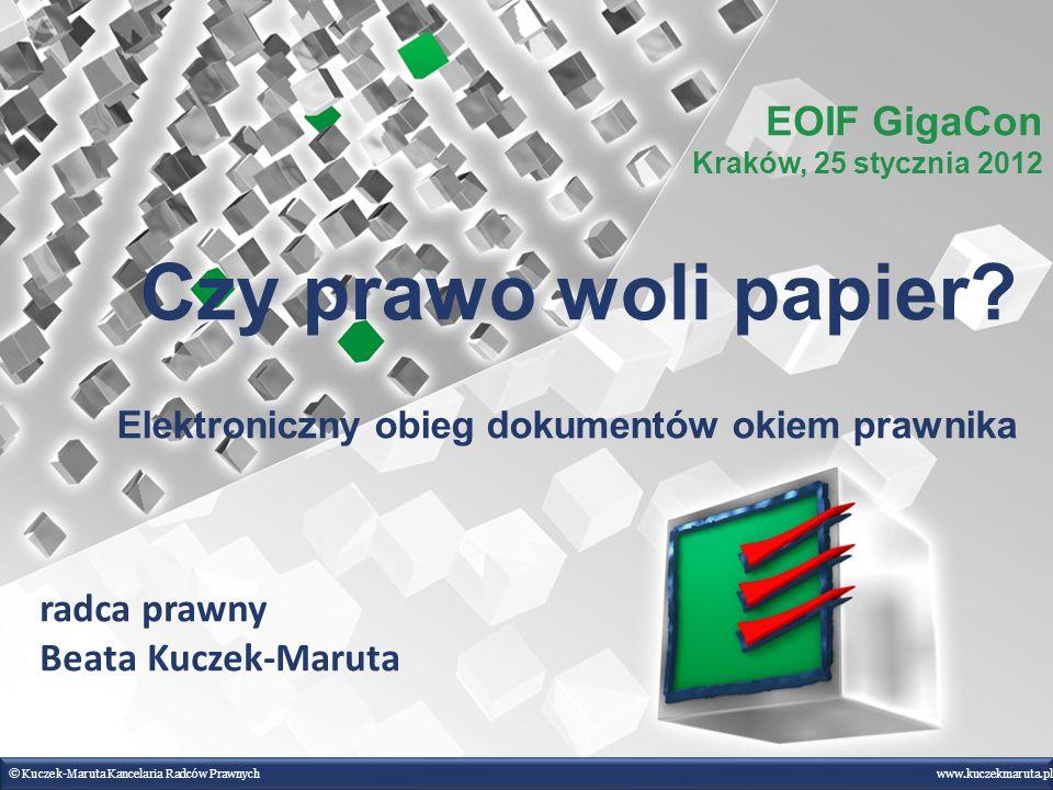 Czy prawo woli papier Elektroniczny obieg dokumentów okiem prawnika