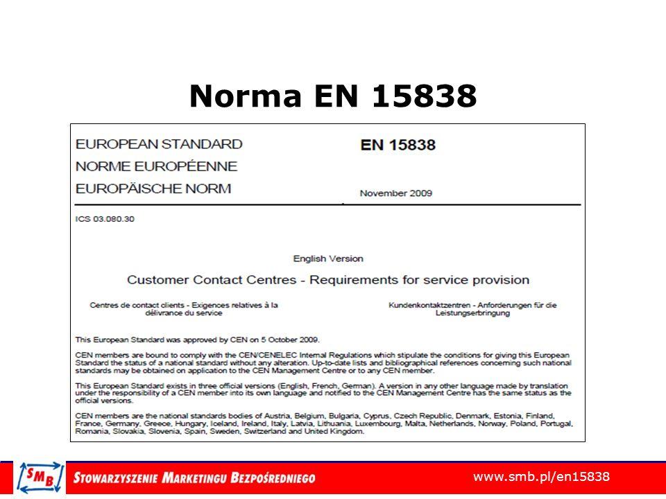 Norma EN 15838