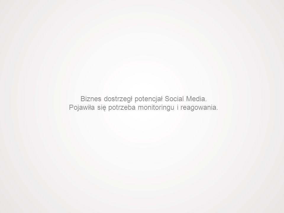 Biznes dostrzegł potencjał Social Media.