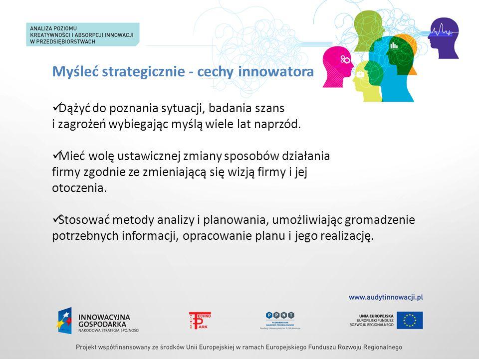 Myśleć strategicznie - cechy innowatora
