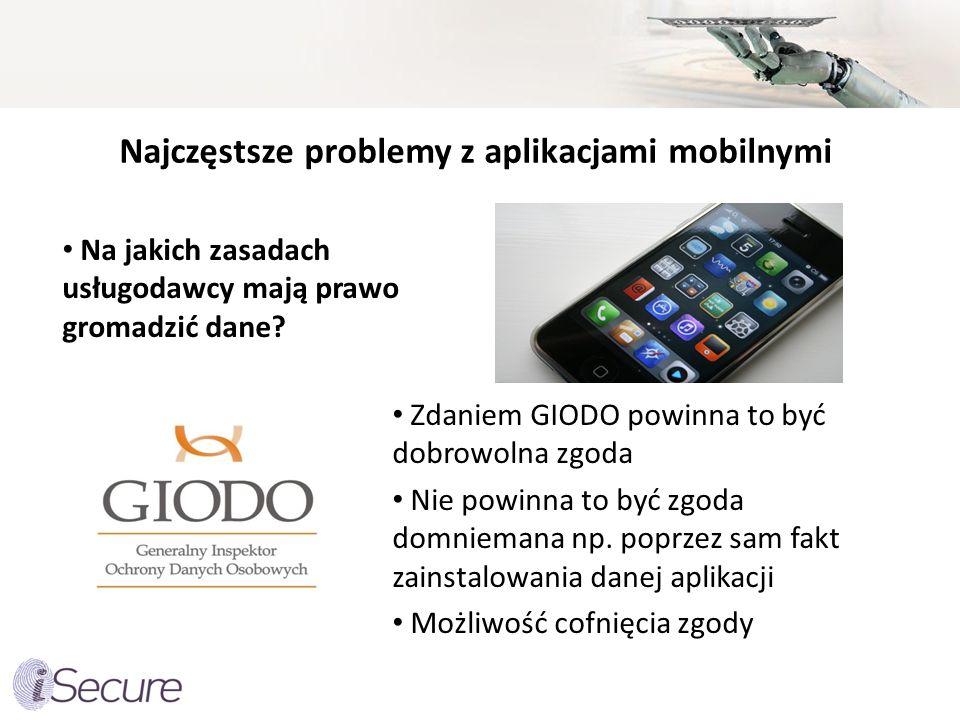 Najczęstsze problemy z aplikacjami mobilnymi
