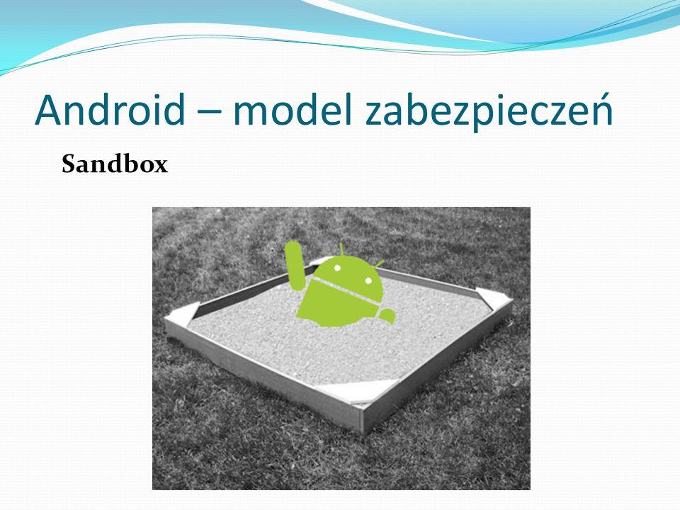 Android – model zabezpieczeń