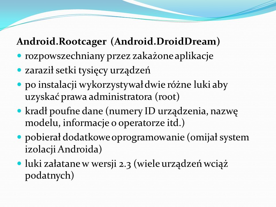 Android.Rootcager (Android.DroidDream)