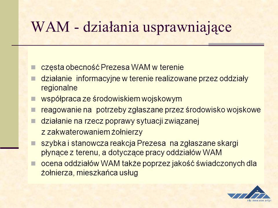 WAM - działania usprawniające