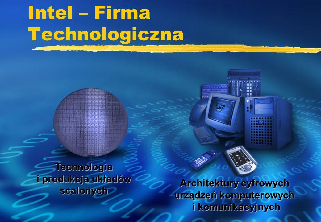 Intel – Firma Technologiczna