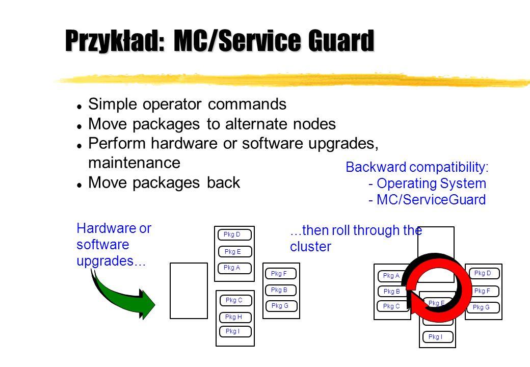 Przykład: MC/Service Guard
